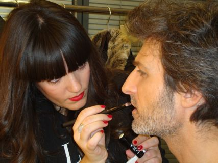 Making of maquillaje